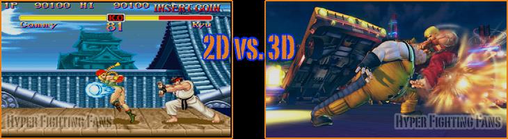 2D vs. 3D... Fight ! 2Dvs3D